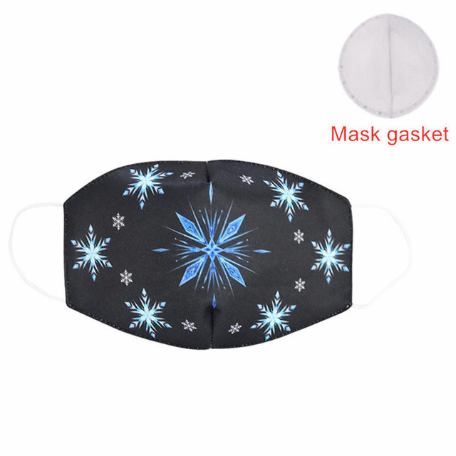 Hot Sale 2020 MEZMER Cartoon Maska Dustproof Mouth Face Mask Kid Cartoon Cover Fashion Muffle Face Mouth Masks for Children Game 3