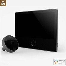 Youpin Luke Smart Door Video doorbell Cat Eye Youth Edition CatY Gray Mihome App Control Rechargable IPS Display Wide Angle