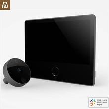 Youpin Luke 스마트 도어 비디오 doorbell Cat Eye Youth Edition CatY Gray Mihome App 제어 Rechargable IPS 디스플레이 와이드 앵글