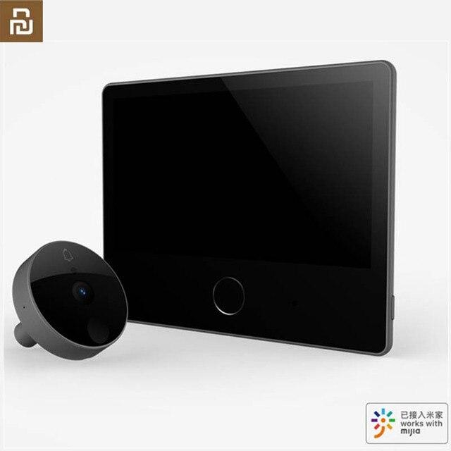 Youpin Luke porte intelligente sonnette vidéo oeil de chat édition jeunesse CatY gris Mihome App contrôle rechargeable IPS affichage grand Angle
