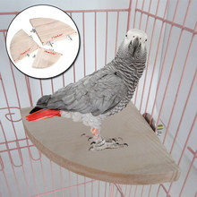 Wooden Hamster Fan Pedal Jump Platform Delicate Jump Platform For Hamster Birds Parrot Pet Entertainment Jumping Pet Accessary(China)