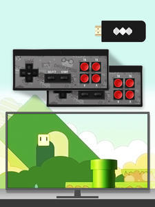 Mini Console Game TV Data-Frog Nes Classic Handheld 8-Bit 1400 Wireless Build Hdmi-Output
