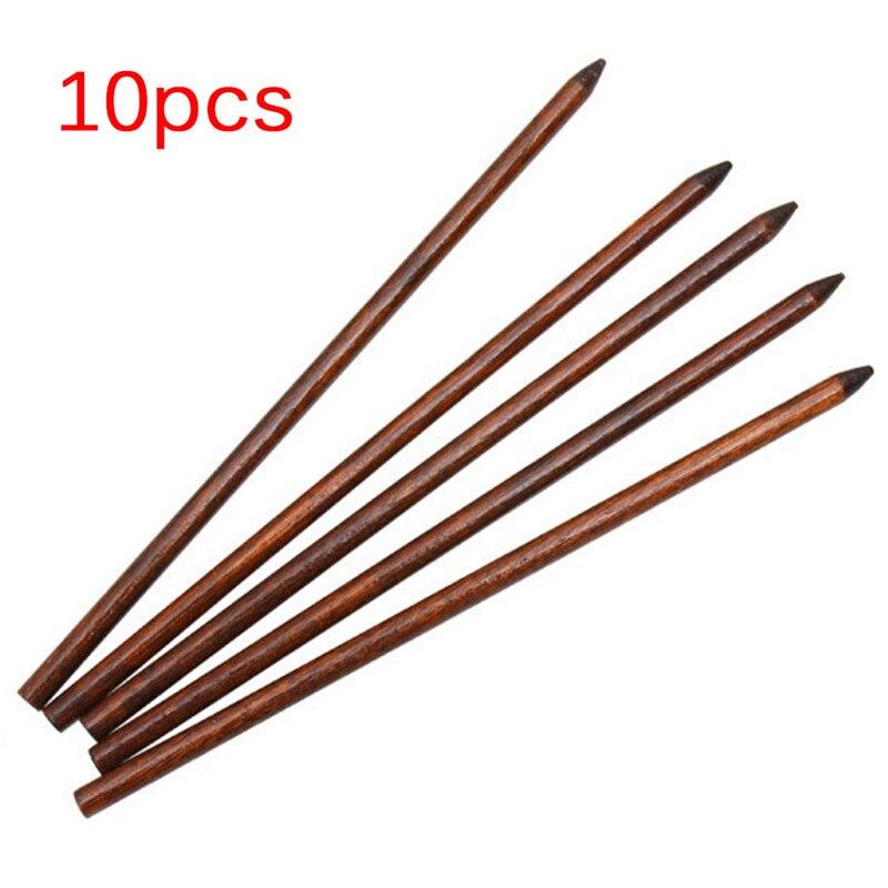10 шт./лот 18 см палочки для волос печатная деревянная заколка иглы головные уборы ювелирные аксессуары деревянные шпильки палочки для волос