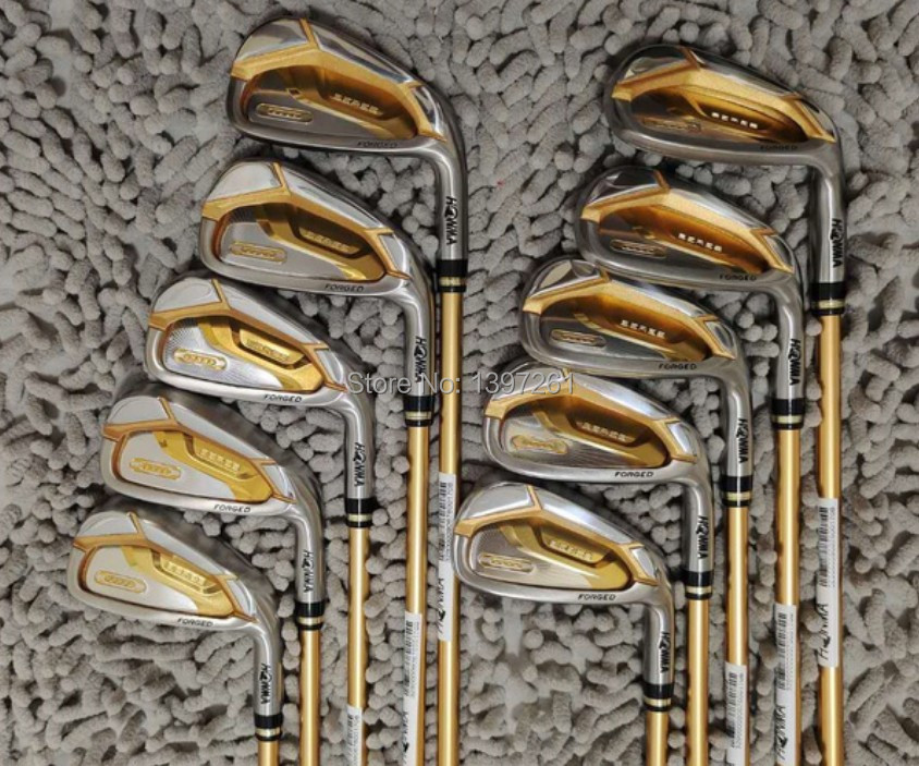New Golf Clubs HONMA S-07 Golf Compelete Set Driver wood Irons Putter and Bag Clubs Set R or S Flex Graphite Shaft Free Shipping 5