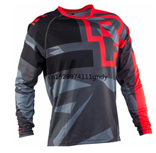 цена на 2020 Off road ATV Racing T-Shirt AM FOR customized Bicycle Cycling Bike downhill Jersey motorcycle Jersey motocross MTB DH MX Mo