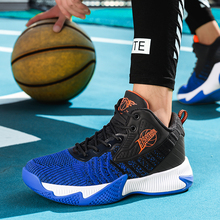 Authentic Flying Woven Basketball Shoes Men Sports Cushion Damping Athletic Training Sneakers Zapatos Baloncesto Hombre
