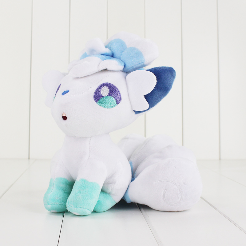 JOYLIVE 18cm High Quality  Cotton Soft Stuffed Doll Toy For Children Gift White Plush Cartoon Doll Toy Pokemon