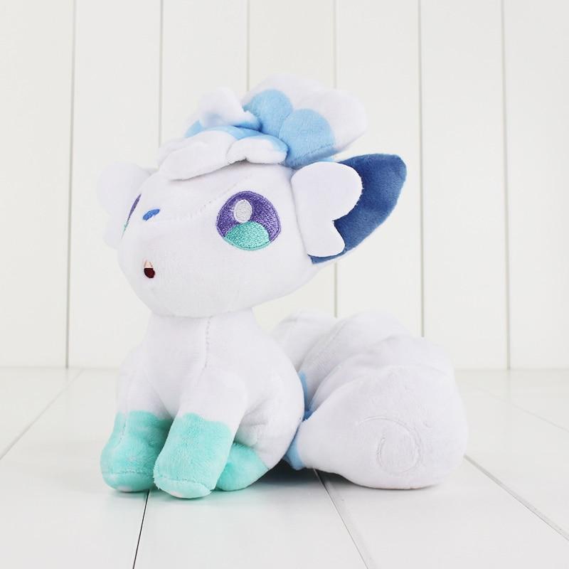 JOYLIVE 18cm High Quality  Cotton Soft Stuffed Doll Toy For Children Gift White Plush Cartoon Doll Toy Pokemon