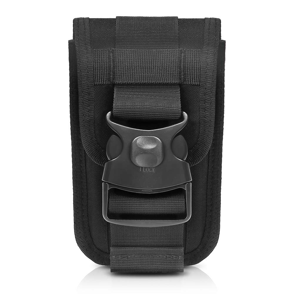 1000D Tactical Phone Bag Molle Army Belt Pouch Waist Fanny Bag Card Carrier Pocket Phone Case Utility Bag For Hunting Shooting