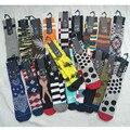 Meias de skate meias de compressão de basquete para homens função esporte meias coloridas ao ar livre esporte meias atacado 6 pares