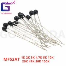 500pcs MF52AT MF52 B 3950 NTC Thermistor Thermal Resistor 5% 1K 2K 3K 4.7K 5K 10K 20K 47K 50K 100K