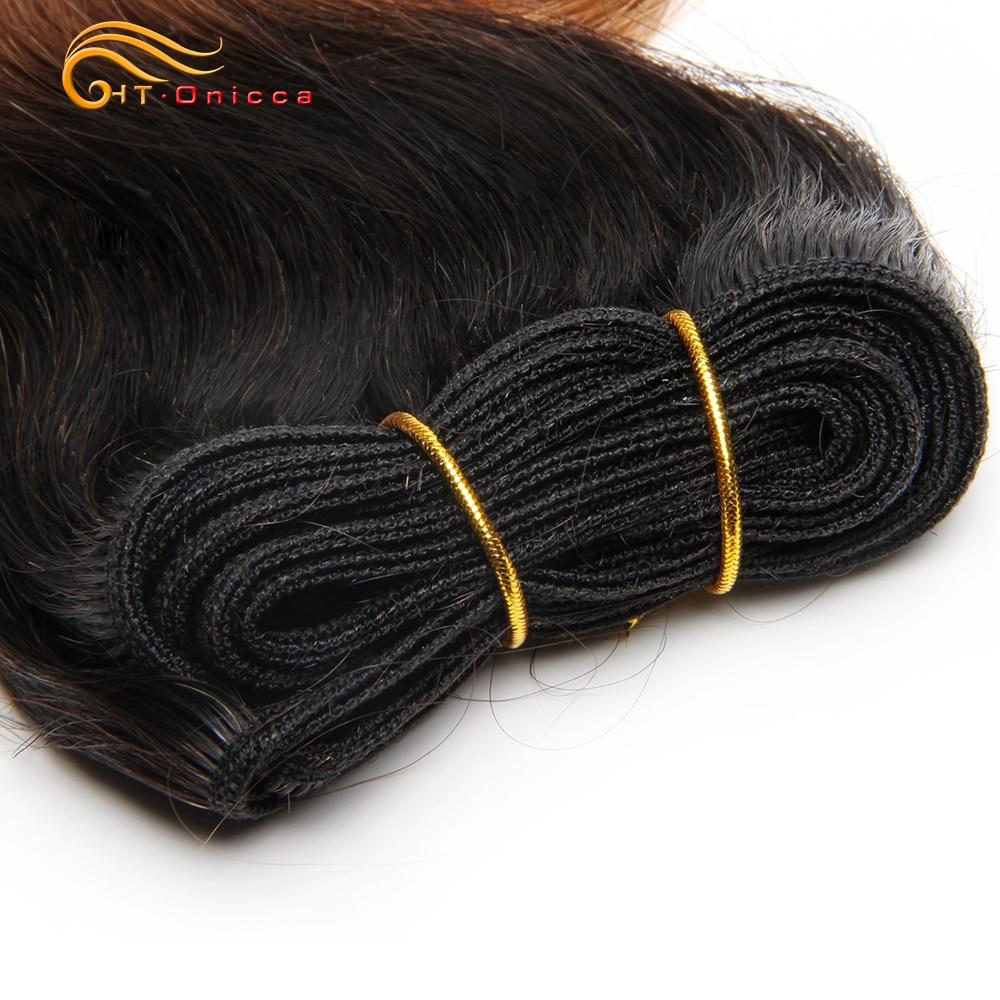 Double Drawn Funmi Hair Bundles With Closure Curly 8 Inch 100%  weave   Hair  1B 27 30 Burgundy 4