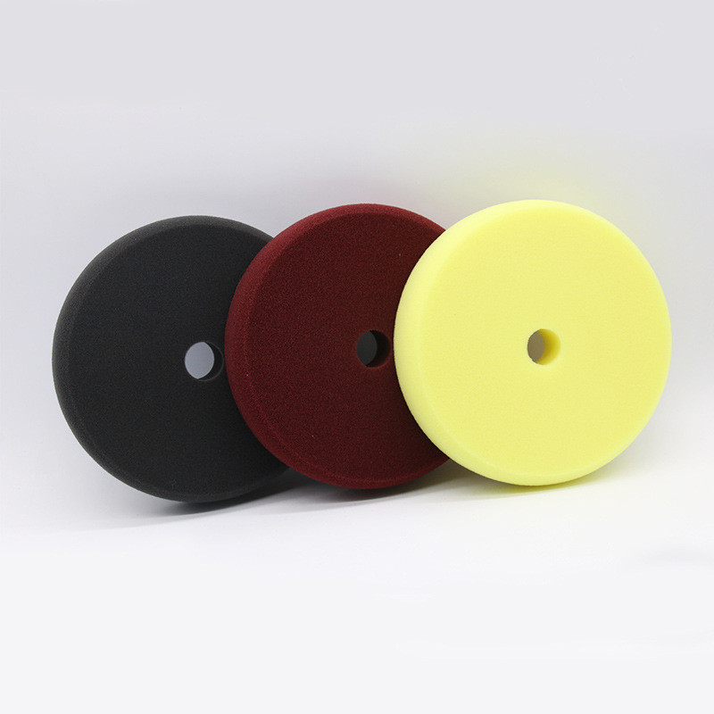 7 Inch Sponge Plate Polishing Pad Coarse And Medium Fine <font><b>Car</b></font> Polishing Waxing Reduction <font><b>Disk</b></font> Sponge Polish <font><b>Wheel</b></font> Sponge <font><b>Wheel</b></font> image