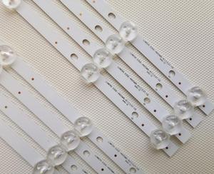Image 2 - 8 PCS/set New LED Strip For Sam sung UE46H5373 UE46H6203 UN46FH6030F D3GE 460SMA R2 D3GE 460SMB R1 2013SVS46 3228N1