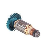 AC220 240V GA6010 GA6020 Armature Rotor anchor motor for Makita angle grinder GA 6010 6020 GA5020 GA5020Y GA5010 GA6010Z GA5010Z