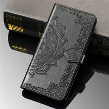 Funda con tapa para Asus Rog Phone 3 ZS661KS 3D, Cartera de Mandala con ranura para tarjeta, carcasa para teléfono Rog 3