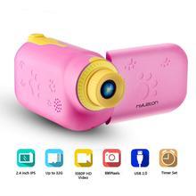 Children Mini Video Camera Full HD 1080P Kids Baby Gift Digital Camera Selfie Cartoon Camera Educational Toy With 16GB/32GB Card