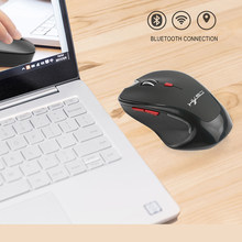 Bluetooth 3.0 Wireless Mute Battery Powered Professional For Computer Universal Mini Portable 2400DPI Mouse Adjustable DPI(China)