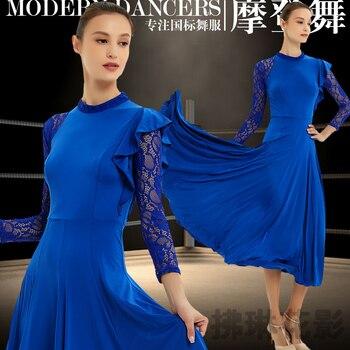 New ballroom dance competition dress dance ballroom waltz dresses standard dance dress women ballroom dress Y018