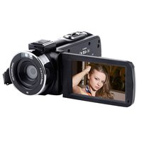 3.0 Inch WIFI High definition home digital camera photo and video all in one full black night while charging