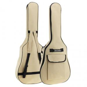 Image 4 - 40/41 Inch Oxford Fabric Acoustic Folk Guitar Bag Case Gig Bag Double Straps Padded 5mm Cotton Soft Waterproof Backpack