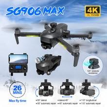 ZLRC-Dron plegable SG906 PRO, 3 MAX, GPS, 5G, WIFI, FPV, con cámara 4K, HD, 3 ejes EIS, antivibración, cardán, evitación de obstáculos, Quadcopter