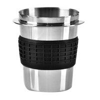 Aço inoxidável café em pó de dose de precisão copo para ek43 moedor acessório copo dose café fr casa diy ferramentas novo| |   -