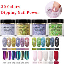 BORN PRETTY Dipping Nail Powder Holographic Acrylic Polymer Nature Dry Without Lamp Cure Gradient French Glitter