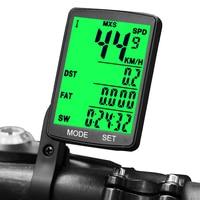 Com fio computador da bicicleta sem fio cronômetro odopete multifunções medidor à prova dmultifunction água sensores digitais ciclismo velocímetro|Computador p/ bicicleta| |  -