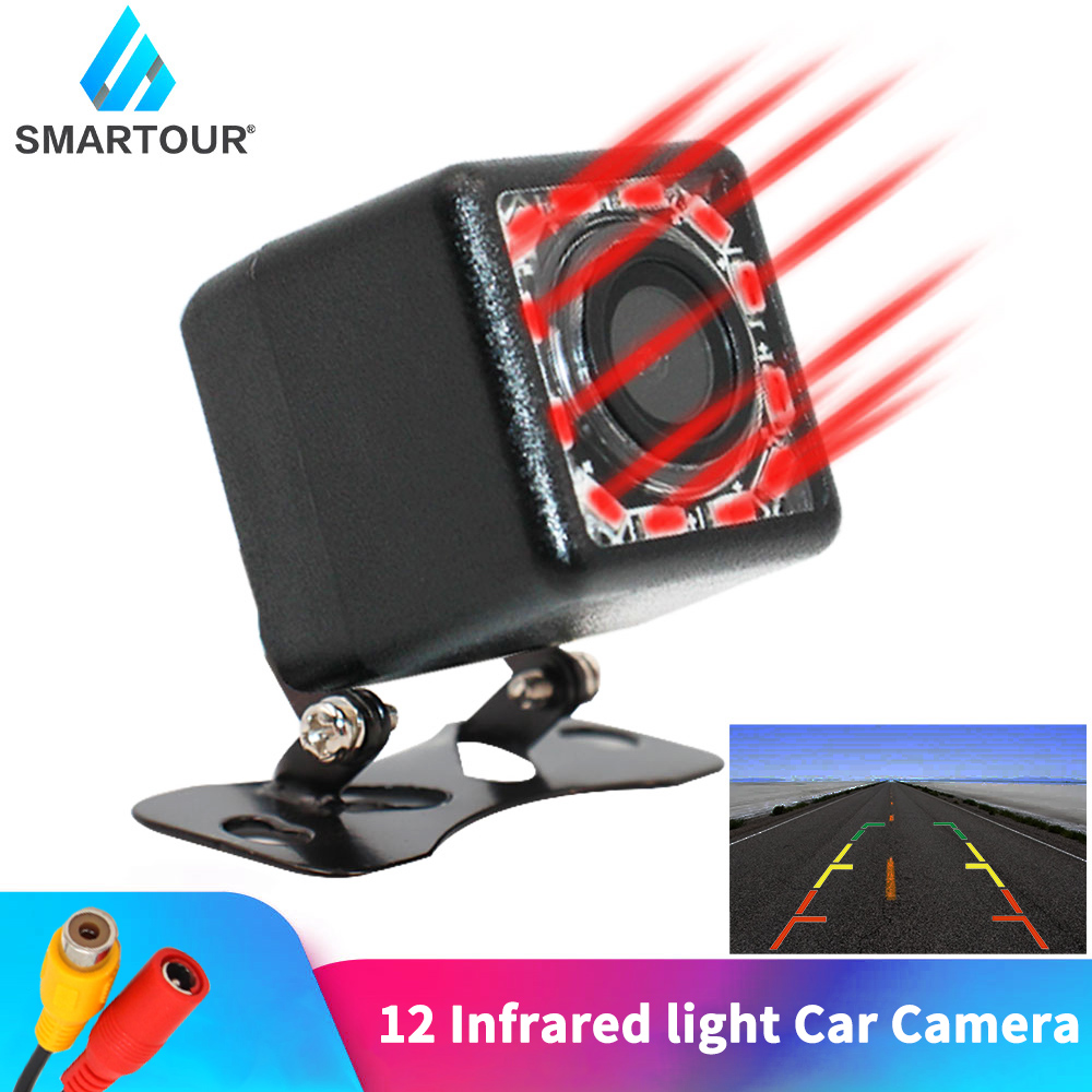 lowest price Wireless Night Vision IR Rear View camera EU License Plate Frame Car Reverse Camera waterproof Back Up Camera for monitor gps