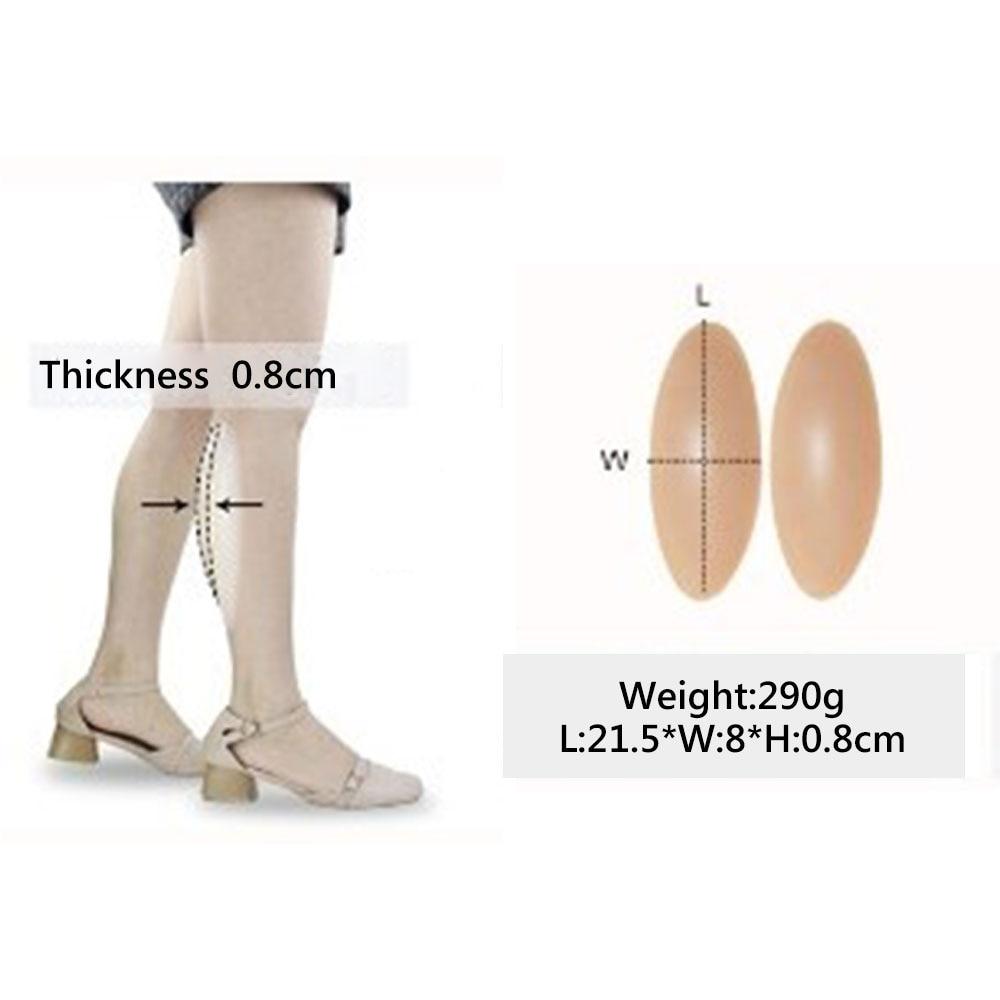 1Pair Silicone Leg Onlay Self-Adhesive For Crook Leg Correctors Body Shaping Hot