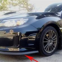 2.5M Car Bumper Lip Stickers Car Front Bumper Lip Rubber Car Bumper Protectors Exterior Mouldings Bumper Lip Strip 65mm Width цена