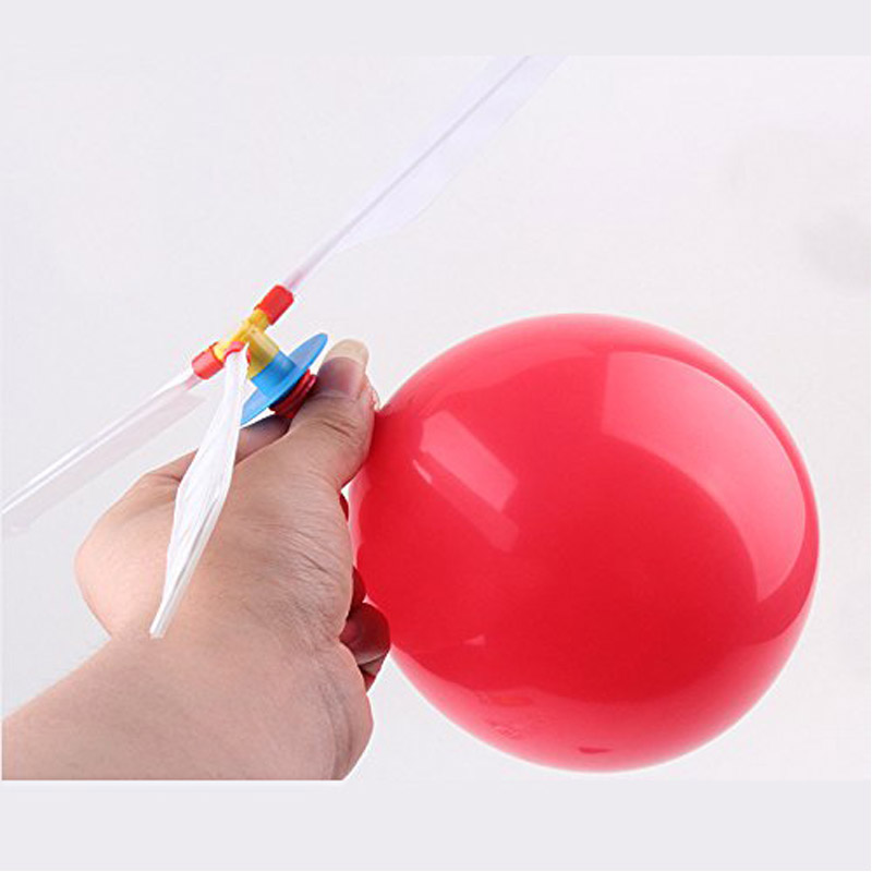 5 Pcs/set Baby Balloon Helicopter Flying Toy Child Birthday Xmas Party Bag Stocking Filler Gift Beach Flying Toy New New1
