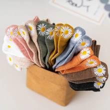 Korean socks summer women's socks cute flower socks casual women's socks
