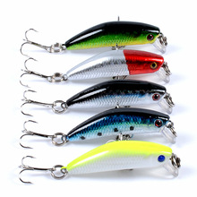 4.5cm 4.2g Crankbait Fishing Lure Artificial Crank Hard Bait Topwater Minnow Fishing Wobblers Japan Fish Lures