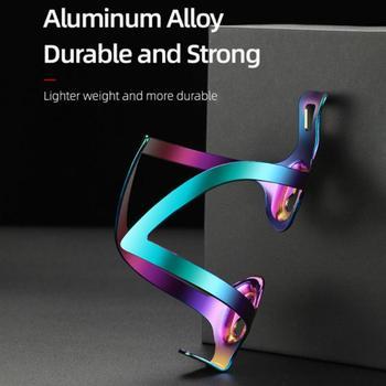 Kolorowe bidon rowerowy uchwyt lekkie ze stopu aluminium drogowego uchwyt rowerowy na bidon bidon rowerowy uchwyt na tanie i dobre opinie Aubtec CN (pochodzenie)