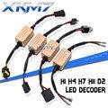 XKM7 H7 H4 H11 H1 D2 LED Canbus Decoder Auto Licht Fehler Freies Canceller Verdrahtung Auto Last Widerstand Automotive Scheinwerfer zubehör