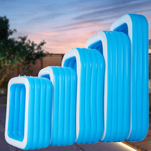 110~180cm Inflatable Swimming Pool Children Bathing Tub Thick Adult Kids Paddling Pool Household Bath Tubs Kids Inflatable Pool