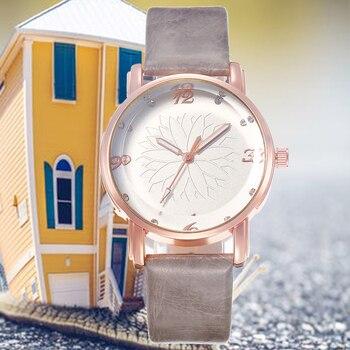 цена на Watches Women Brand Casual Watch Luxury Analog Quartz Crystal Wristwatch Casual Clock Ladies Wrist Watch Relogio Feminin
