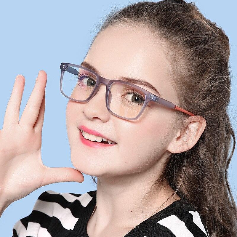 ROUPAI Anti Blue Light Radiation Glasses For Children Kids Boy Girl Computer Gaming Glasses Blue Ray Glasses Oculos Infantil