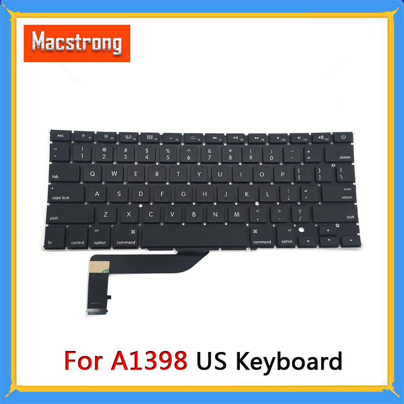 100/% New MacBook pro A1398 Retina keyboard w Backlight 2013 2014 Year W Screws