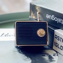 Altavoz Retro inalámbrico de comunicación con forma de Radio Vintage Mini altavoz lindo FKU66