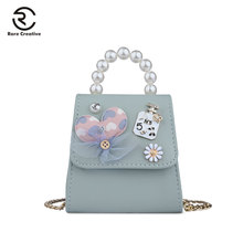 RARE CREATIVE Lovely Mini Womens Shoulder Bag Fashion Brand PU Leather Women Bags 2019 High Quality Flower Crossbody PS8003