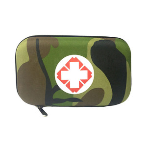Image 2 - Camouflage First Aid Kit Black Red Waterproof EVA Bag Person Portable Outdoor Travel Security Emergency Kits Medical Treatment