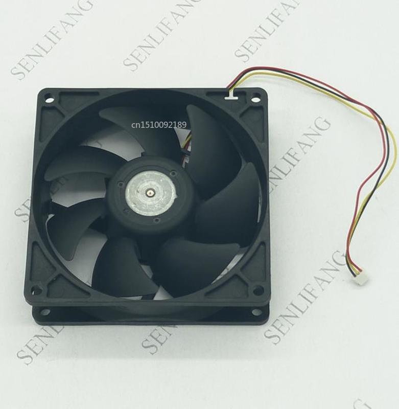 For U92T12MGB7-53 J33 Server Cooler Fan DC 12V 0.18A 92x92x25mm 3-wire