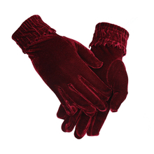 Fashion Female Sexy Gloves Autumn Winter Warm Elastic Cycling Mittens