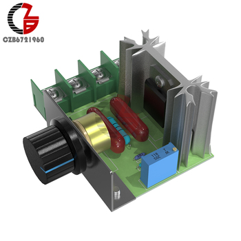 Voltage Regulator 2000W Adjustable SCR DC Motor Speed Controller Soft Start Control Power - discount item  15% OFF Electrical Equipment & Supplies