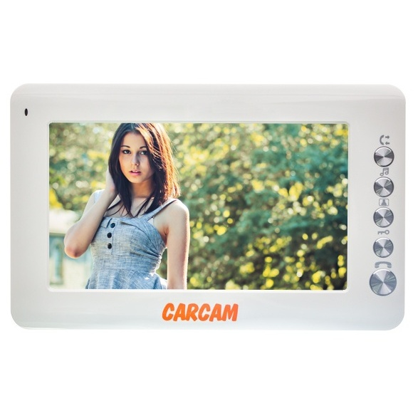Video Intercom CARCAM DW-702 With Display 7 '', Connecting 2 Ringer Panels