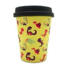 Rising-Squeeze-Toys Coffee-Cup Squishy Stress Simulation-Dinosaur Reliever Kids NEW PU