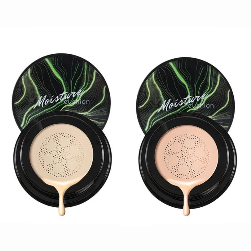 BB Cream Air Cushion Natural Brightening Makeup Bomb Sponge Head Moisturizing Foundation Concealer Foundation Air-permeable Nat image
